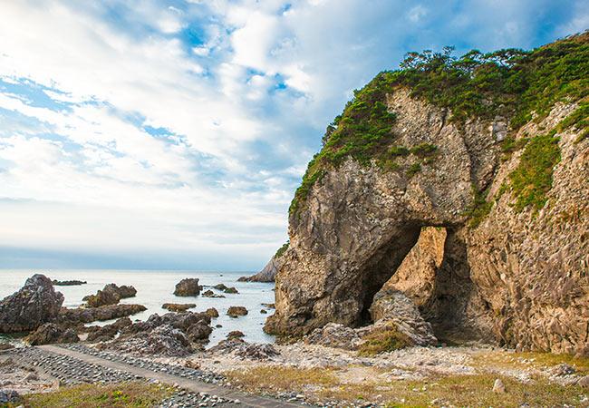 大浦海水浴場の写真