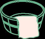桶のイラスト