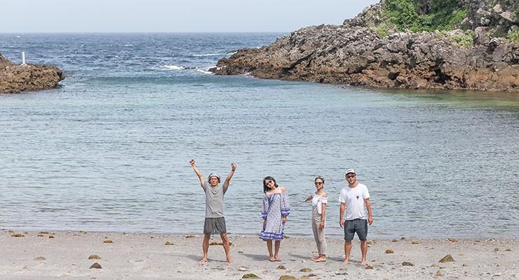 出港までの時間は、式根島観光を楽しもう。